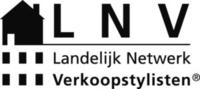 Zwart wit LNV logo